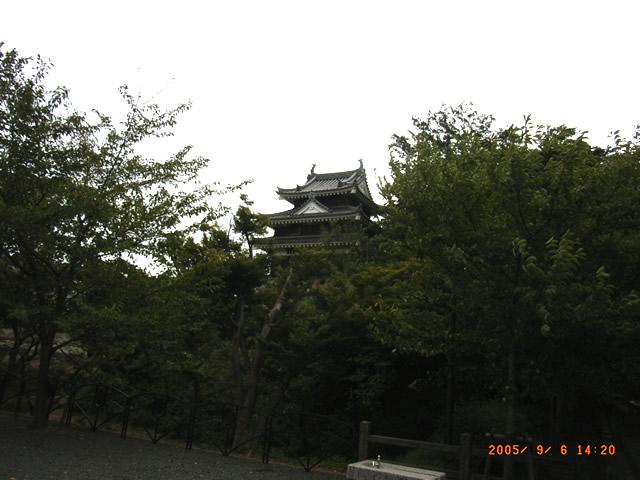 近衛邸から見る櫓