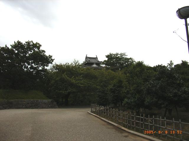 丑寅櫓の遠景