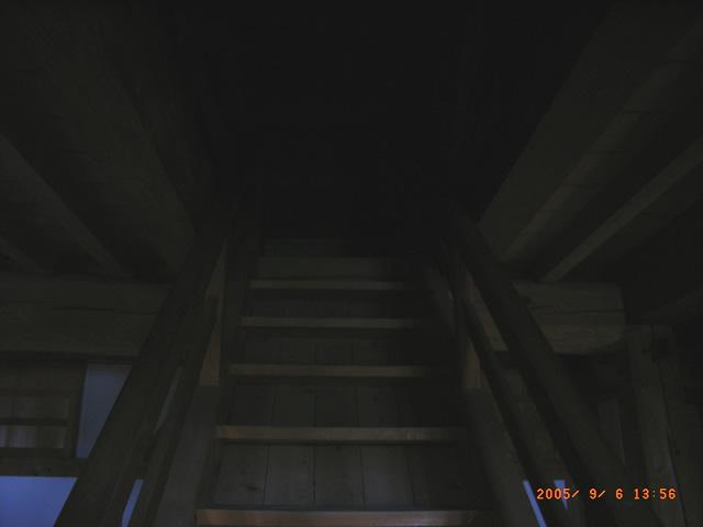 丑寅櫓の階段