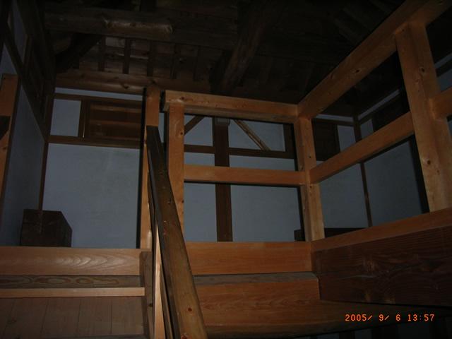 丑寅櫓の最上階