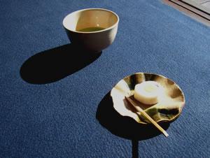 丈山苑呈茶